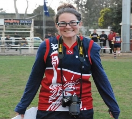 Christina Licata, a remarkable unfinished Footy story